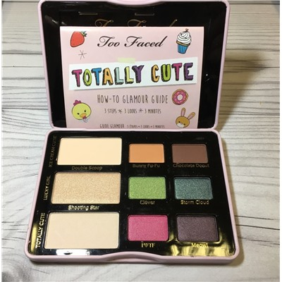 Тени T Faced Totally Cute how to glamour guide(распродажа )