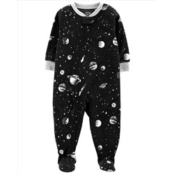 1-Piece Space Fleece PJs