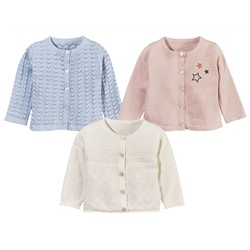 LUPILU® PURE COLLECTION Baby Mädchen Strickjacke