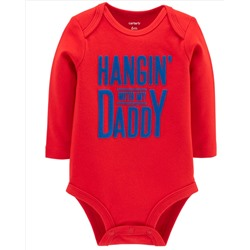 Hangin' With Daddy Collectible Bodysuit