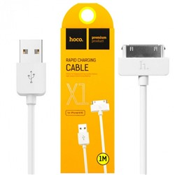 USB-кабель hoco X1 Cable Rapid Charging For iPhone 4 / 4s 1 м
