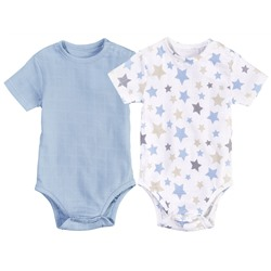 LUPILU® PURE COLLECTION Baby Jungen Body