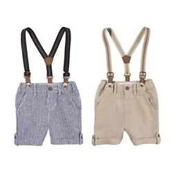 LUPILU® PURE COLLECTION Baby Jungen Shorts