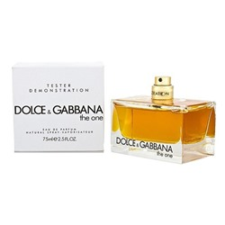 Tester Dolce & Gabbana The One For Women 75 ml